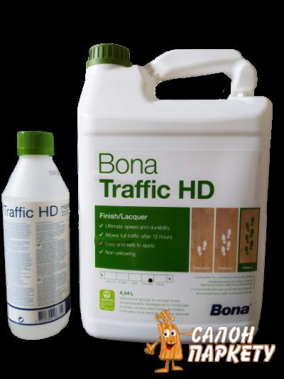 Лак Bona Traffic HD 5л