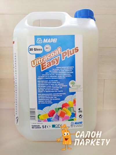 ЛАК MAPEI ULTRACOAT EAZY PLUS 5Л